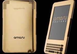 Британский ювелирный бренд выпустил электронную книгу с золотым покрытием стоимостью $2 тыс