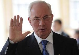 Янукович внес в ВР кандидатуру Азарова на должность премьер-министра