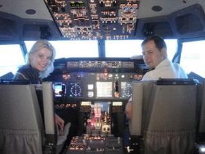 Журналисты избавятся от аэрофобии и научатся управлять Боингом 737