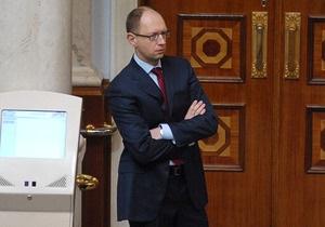 Яценюк: Все голосования - неконституционные, пока не включена система Рада