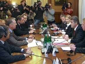 Украина подписала протокол о контроле за транзитом газа (обновлено)