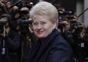Президент Литвы посетит Украину 22 ноября