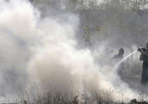 МЧС: В Киевской области зарегистрированы четыре очага возгораний