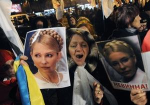 Прокурор: Акция неповиновения Тимошенко - это ее каприз
