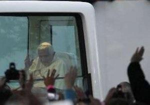 В Лондоне провели марш протеста против визита Папы Римского