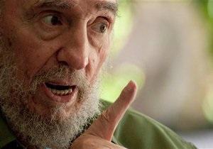 Фидель Кастро призвал Обаму не допустить ядерной войны