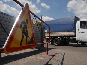 Мост Патона в Киеве частично перекроют на месяц