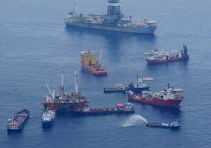 США просят у ЕС спецоборудование для сбора нефти в Мексиканском заливе