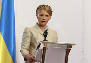Тимошенко считает, что реформы Януковича отразятся в списке миллионеров Forbes