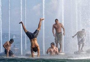Жара в Украине идет на новый рекорд