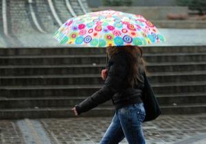 Завтра по всей территории Украины ожидаются дожди