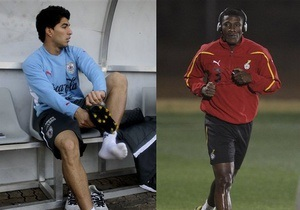 Sport.bigmir.net представляет матч Гана - Уругвай