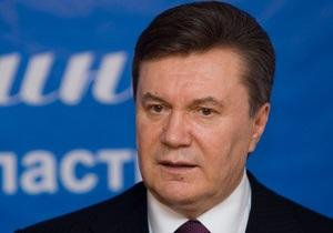 Янукович назначил послов в Литве и Зимбабве