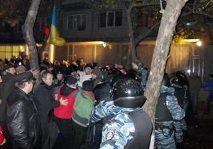 Свобода: Бойцы и бандиты Пилипишина приехали под окружком №223