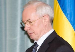 Азаров отказался встречаться с чернобыльцами в Донецке