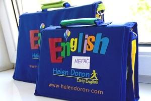 Открытый урок в школе  Helen Doron - раннее развитие