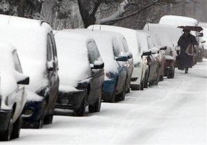 Сильные снегопады парализовали Японию