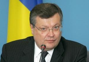 Грищенко отвергает критику США относительно выборов и преследований оппозиции
