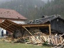 Европу терзает ураган