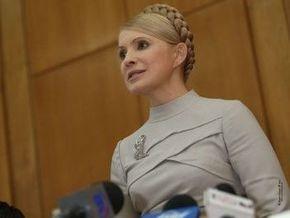 Тимошенко вечером выступит с телеобращением