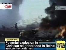 Мощный взрыв в Бейруте: около 10 погибших