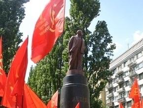Памятник Ленину в Киеве намерены открыть в августе