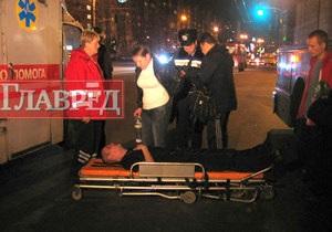 В Киеве на Троещине пешехода сбил троллейбус