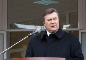 Янукович подтвердил планы продать часть акций Нафтогаза