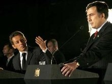 Саркози поручился за Россию перед Саакашвили
