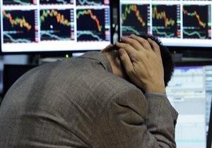 Все фондовые индексы упали из-за плохих перспектив экономики США