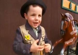 Новости США - странные новости: Мэром американского городка стал четырехлетний мальчик