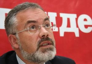 Рада прервала работу: оппозиция требует увольнения Табачника