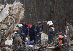 Польские военные проводят собственное расследование крушения Ту-154
