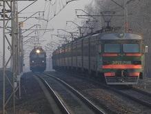 Под Киевом остановились электрички?