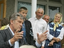 В селе Ивано-Франковской области появится улица Ющенко