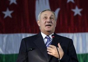 В Абхазии официально подтвердили победу Багапша на президентских выборах