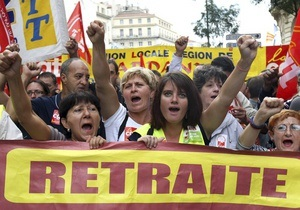 Забастовки французских профсоюзов ежедневно обходятся стране в 200-400 млн евро