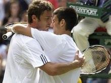 Уимблдон: Джокович считает Сафина одним из лучших теннисистов мира