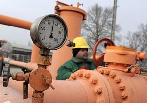 Украина в октябре 2012 года увеличила импорт природного газа на 10,5%