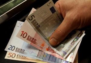 Евро упал по итогам торгов на межбанке
