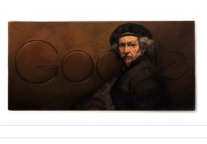 рембрандт - интернет - Google: Google выпустил праздничный дудл к 407-летию Рембрандта