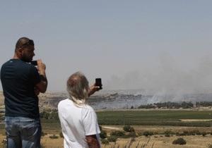 Израиль стянул танки к пограничному переходу в Сирию
