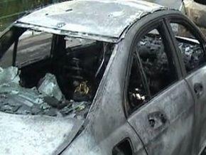 В Черновцах сожгли машину депутата