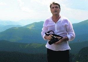 Ющенко взойдет на Говерлу