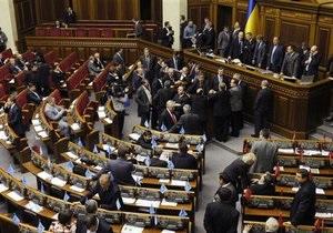 Рада заявила об отсутствии проектов постановлений о сложении полномочий Литвина и Томенко