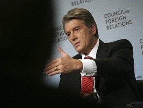 Ющенко: ПР и БЮТ продолжают реализовывать сценарий раздела страны между собой
