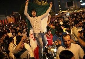 Иранские реформисты празднуют победу