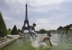 Новый рекорд жары установлен в России и Европе