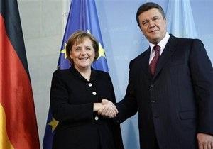 В ближайшее время Янукович посетит Германию