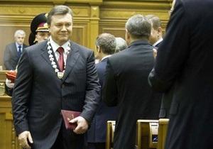 Янукович подписал закон о новом порядке создания коалиции